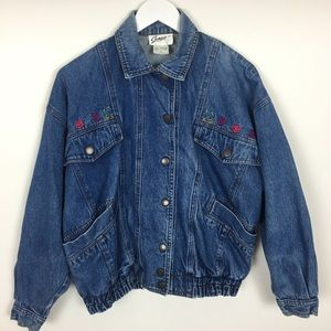 VTG Denim Jean Jacket Size Small